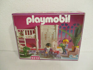 SR-5312-Kinderzimmer-Puppenhaus-5300-5305-1900-Nostalgie-rosa-Serie-OVP-BA