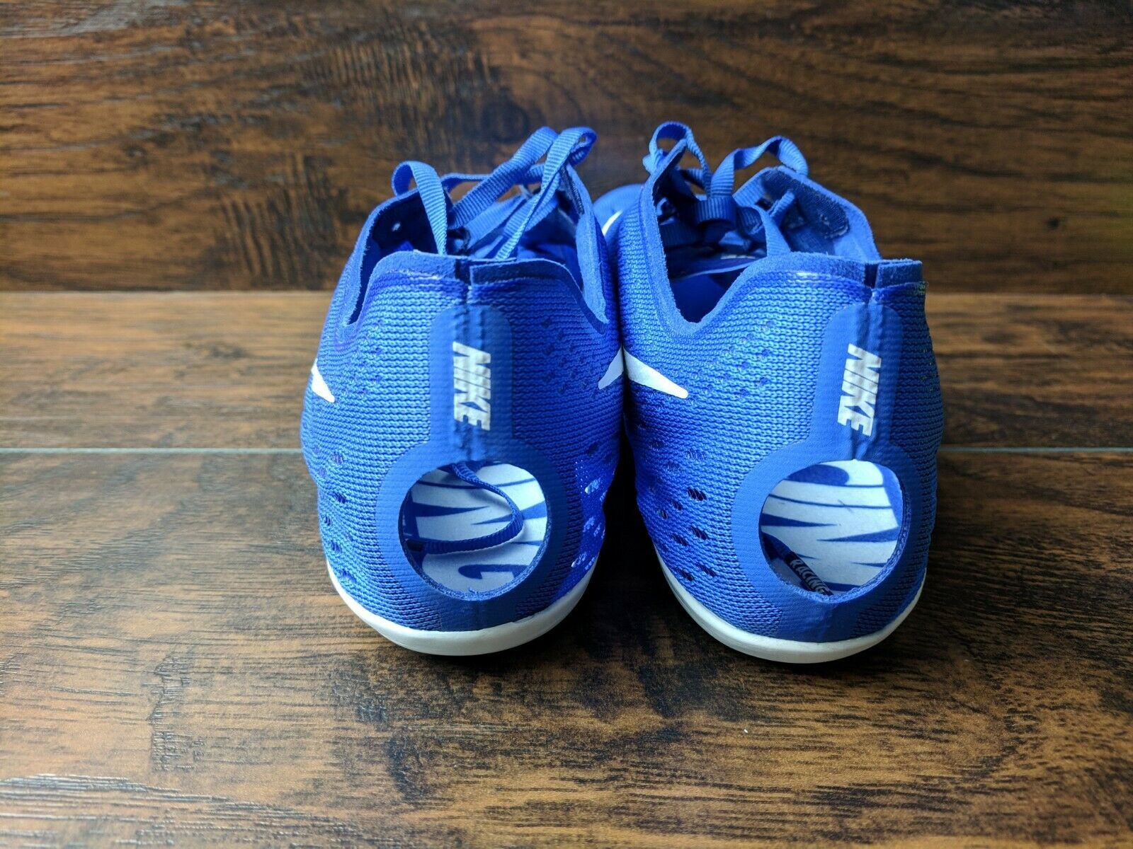 Brand New Nike Zoom Victory 3 Men's Size 12 12 12 Track Field Running Spike shoes bluee 6d1f47
