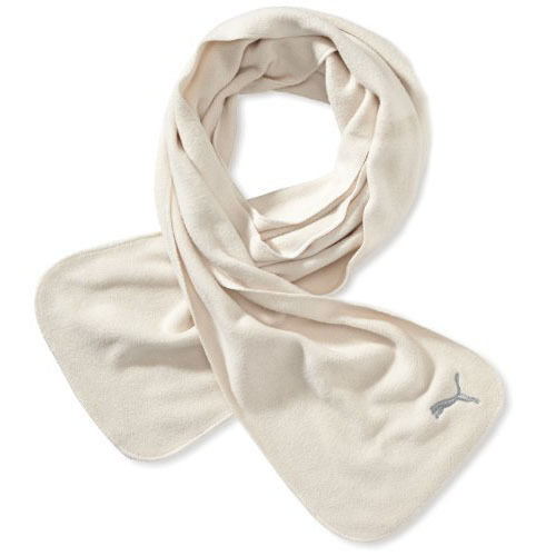 Puma Fundamentals Womens Fleece Beige Ultra Soft Polyester Scarf 052270 03 UW32