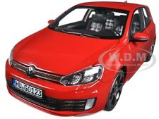 2009 VOLKSWAGEN GOLF GTI TORNADO RED 1/18 DIECAST CAR MODEL BY NOREV 188488
