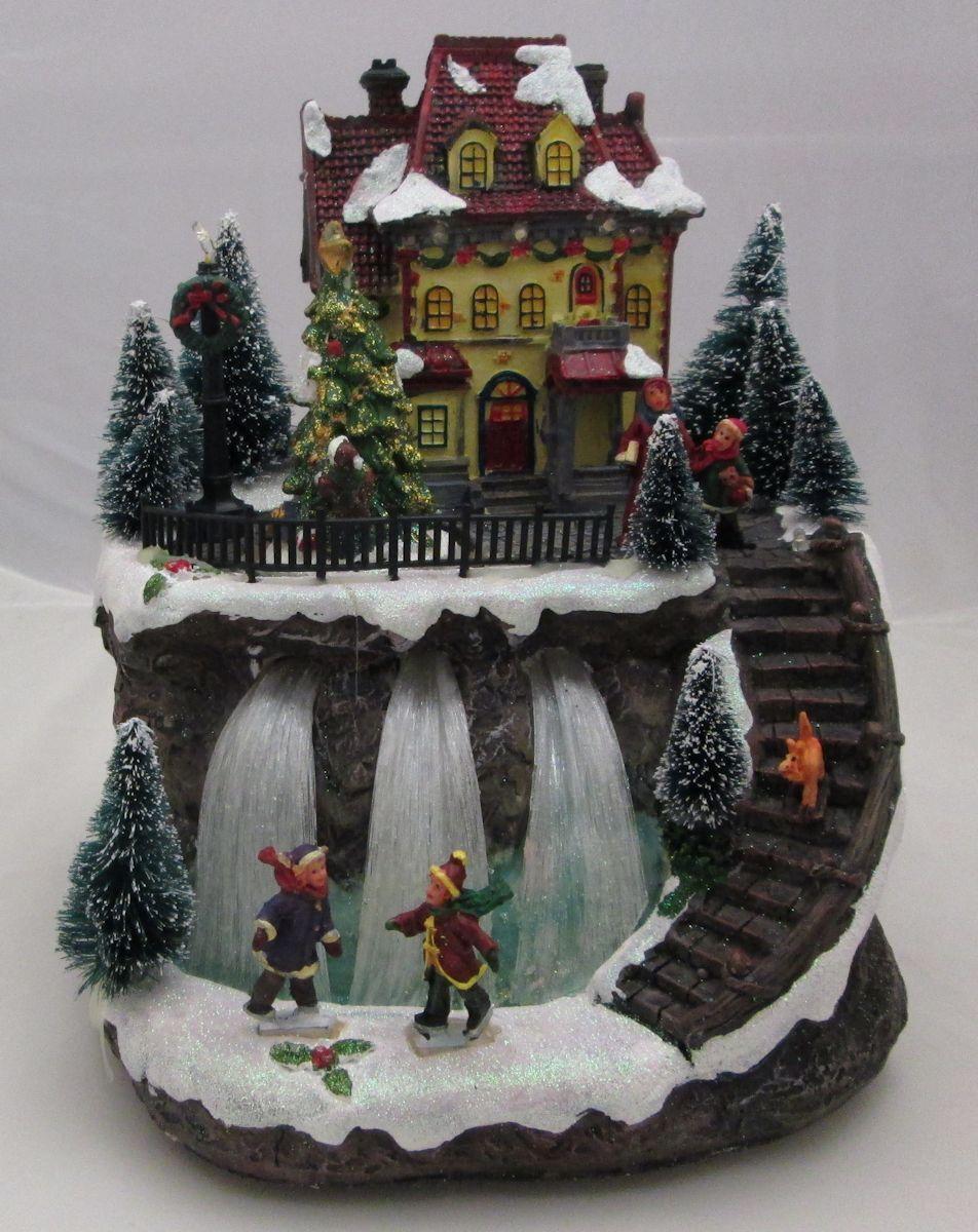winterhaus haus berg winterberg spieluhr winter. Black Bedroom Furniture Sets. Home Design Ideas