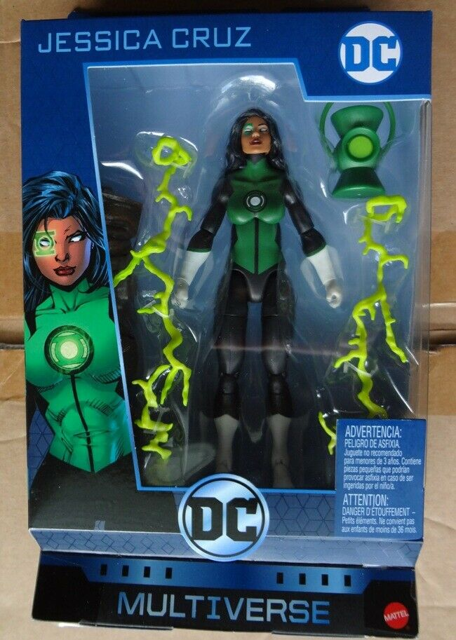 DC multiverse Jessica Cruz Mattel New sellated arcilla Connection and Collection BAF CNC
