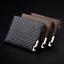 Porte-cartes-De-Credit-En-Cuir-Pour-Hommes-Porte-monnaie-Zipper-Porte-Monnaie-DA miniature 1