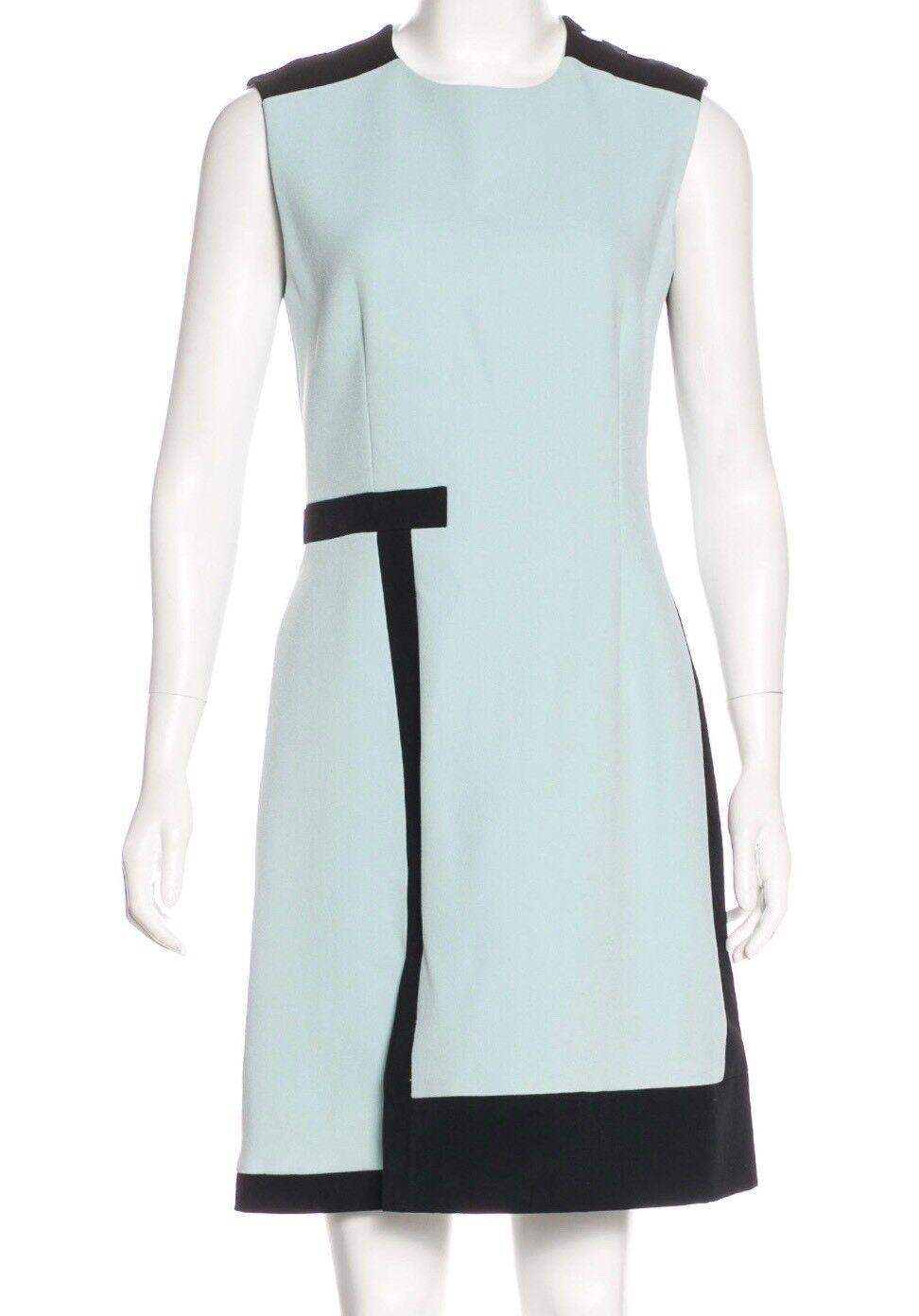 Balenciaga Mint Green A-Line Dress