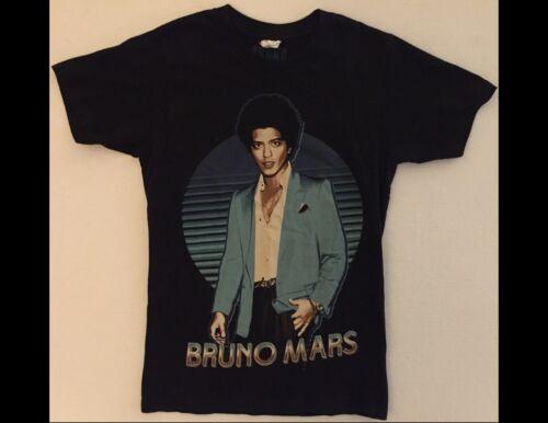 BRUNO MARS Moonshine Jungle 2013 Junior Size XS Black T-Shirt