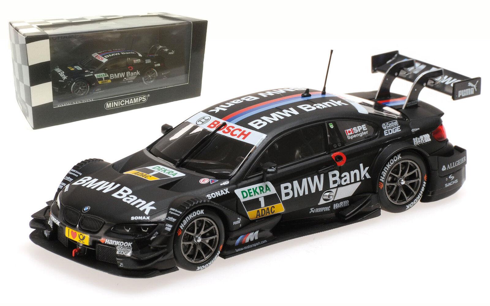 Minichamps BMW M3 DTM (E92) 'Team Schnitzer' DTM 2013 - B Spengler 1 43 Scale