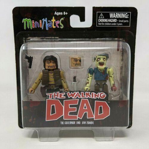 Nouveau Minimates The Walking Dead Le gouverneur et mâchoire ZOMBIE Figure FP20