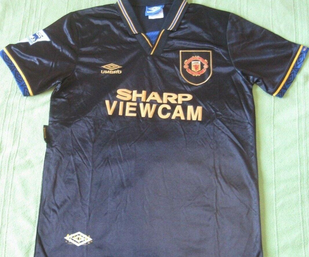 Shirt  Camiseta Trikot MANCHESTER UNITED Season 1994 away Umbro Vintage Retro new  punto de venta