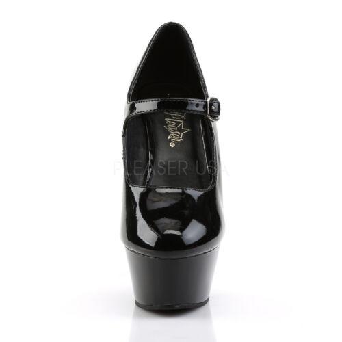 Pole Ladies Slide Kiss Stiletto Scarpe Black ballo Pleaser Heel 280 da Platform w8q11EAd