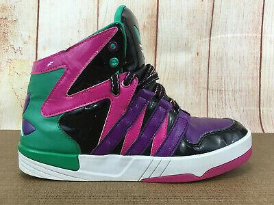 Womens Sz 6 Adidas Originals Court Femme Black/Tribe Purple/Magenta G98572 A81(8   eBay
