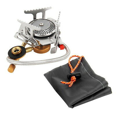 Cookout Portable Gas Stove Furnace Split Burner Cookware Outdoor Camping FE