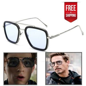 Details zu Sunglasses Peter Parker EDITH Glasses Tony Stark Iron Man Spiderman Shades
