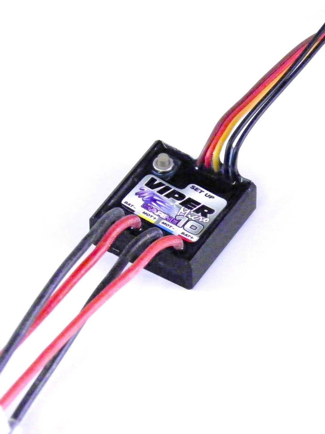 Mtroniks Viper micro MARINE 10 Speed Controller - fully proportional F R