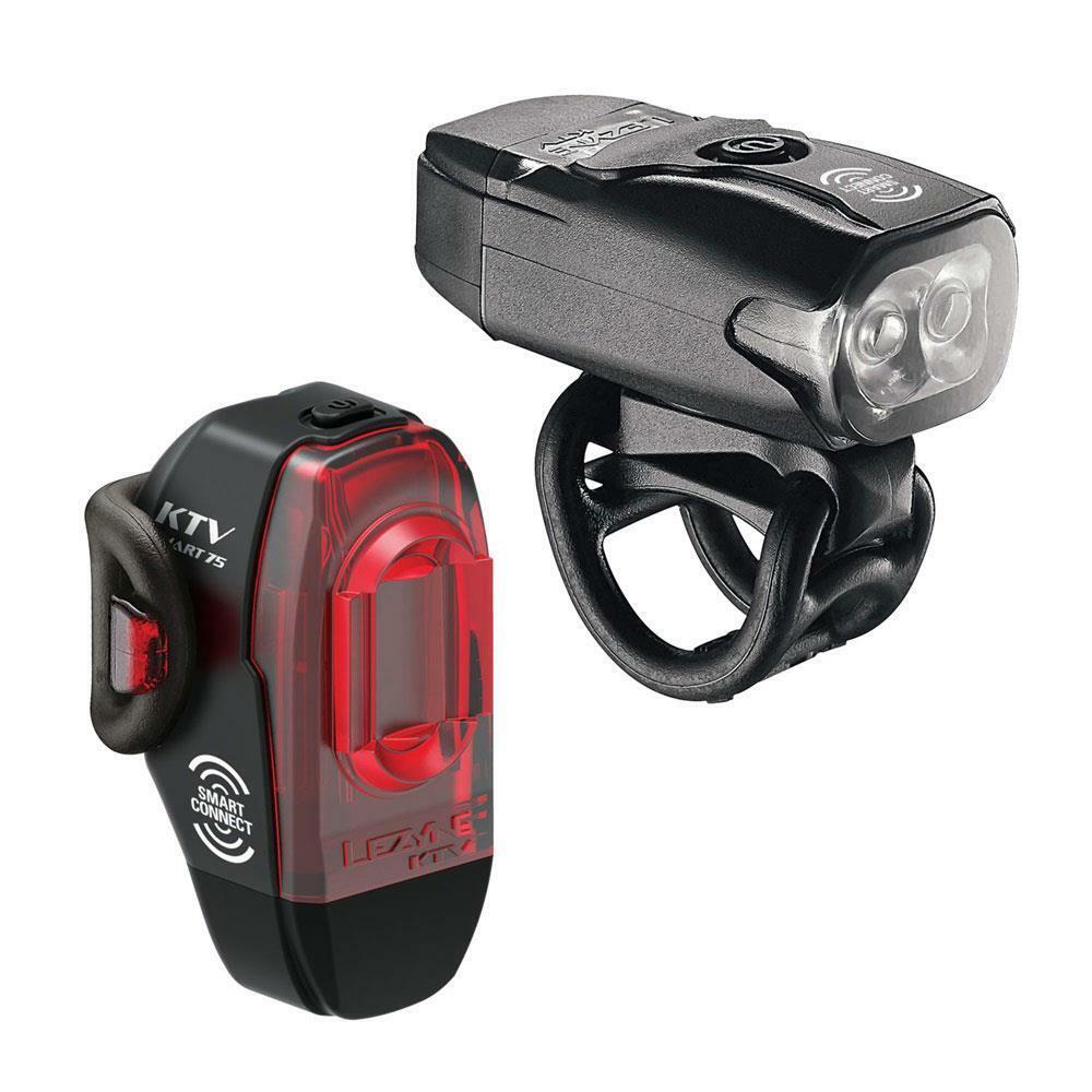 Lezyne Ktv Drive  Ktv pro Smart Paio LED Cycle Luci Riautoicabile  Nero Opaco