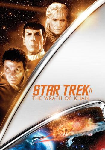 Encadrée imprimer-star trek ii the wrath of khan movie poster enterprise voyager