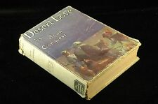 First Edition DESERT LOVE By JOAN CONQUEST 1920 - NONE STATED The Macualay Co Ha