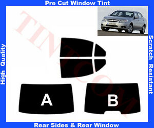 Pre-Cut-Window-Tint-Chevrolet-Epica-4D-06-10-Rear-Window-amp-Rear-Sides-Any-Shade