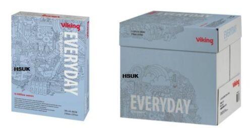 VIKING EVERYDAY COPY MULTIPUROSE PAPER A4 80GSM 500//2500 SHEETS LASER INKJET