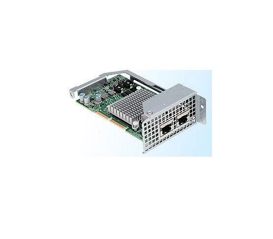 Eerlijkheid *new* Supermicro Aoc-ctg-i2t Ethernet Adapter For High-density Server Systems Druppel Droog