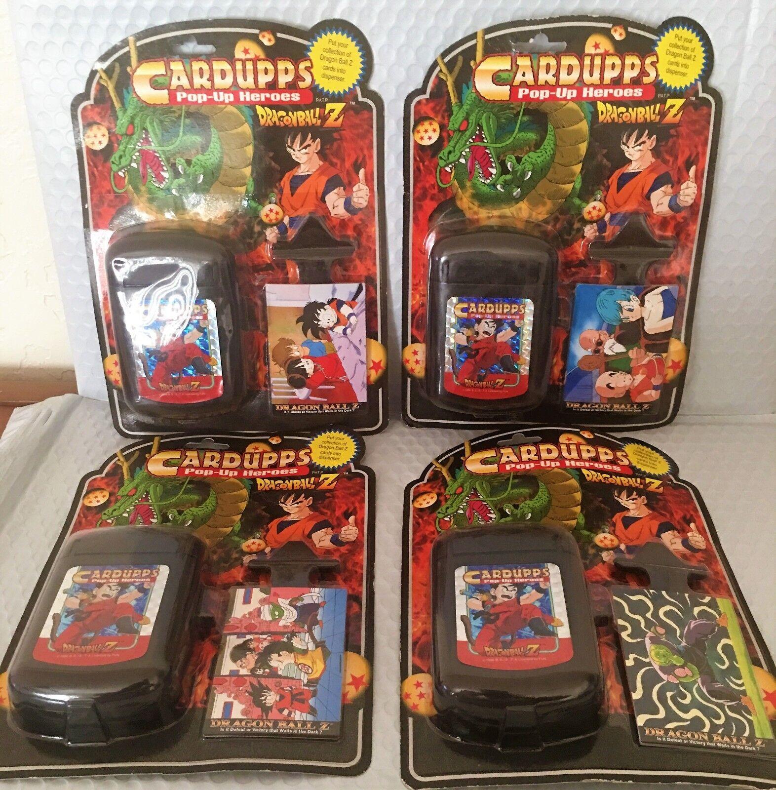 Lot Of 4 - Dragonball Z Standees Aufsteller Heroes Figur - Brandneu