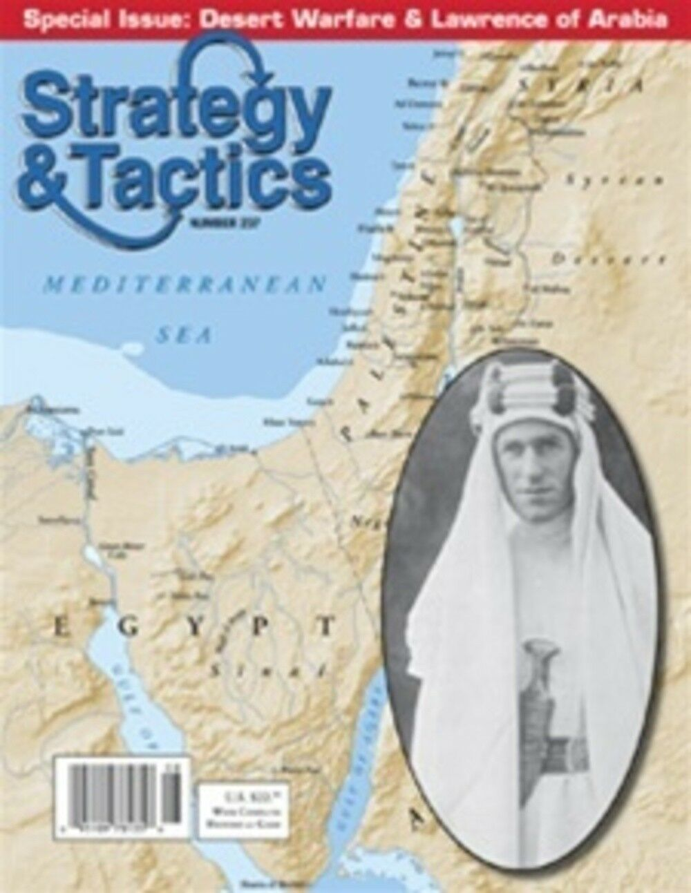 STRATEGY & TACTICS 237 NO PRISONERS  CAMPAIGNS OF LAWRENCE OF ARABIA - UNPUNCHED