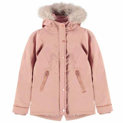 Firetrap Luxury Parka Youngster Girls Jacket Coat Top Full Length Sleeve