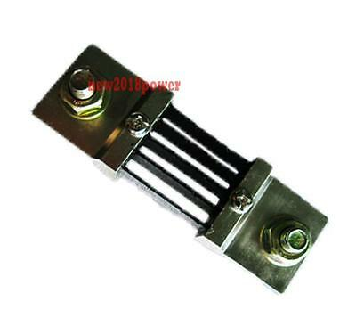 SMAK N FL-2 75A 75mV DC Current shunt Resistor for amp Ampere Panel Meter-NEW