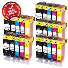 25pk NEW Ink Set w/ Chip for PGI-220 CLI-221 Canon Pixma MP640 MX860 MX870 MP560