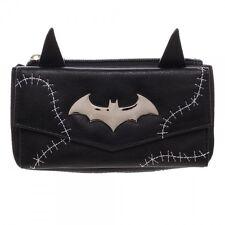 DC COMICS BATMAN CATWOMAN EARS STITCH JRS FLAP WALLET HAND BAG ZIP CLUTCH PURSE