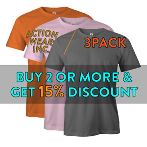 3-PACK-AAA-ALSTYLE-1301-MENS-PLAIN-SHORT-SLEEVE-T-SHIRT-BASIC-CASUAL-COTTON-TEE