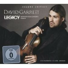 DAVID GARRETT - LEGACY CD+DVD DELUXE EDT NEU
