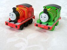Thomas & Friends Percy James Pull 'N Spin Trains Plastic Set of 2