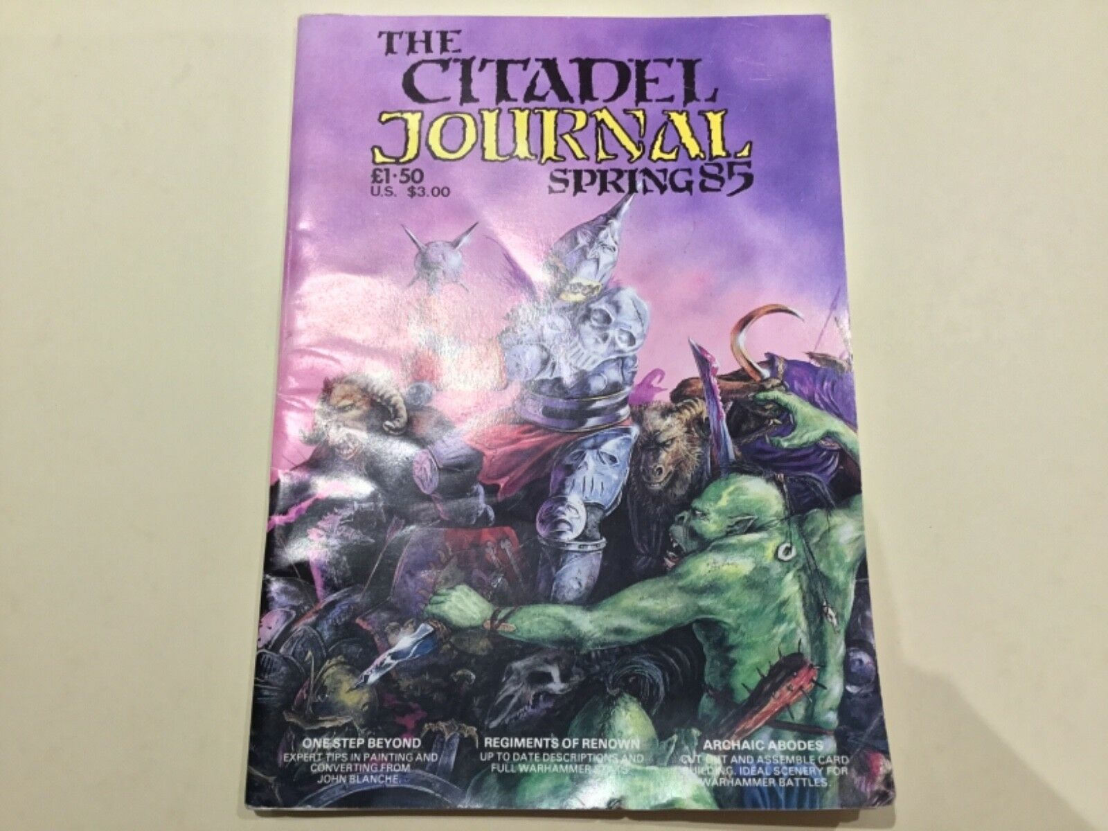 Games Workshop The (First) Citadel Journal Spring 1985