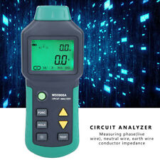 Mastech Lcd Circuit Analyzer Low Voltage Distribution Line Fault Tester Green