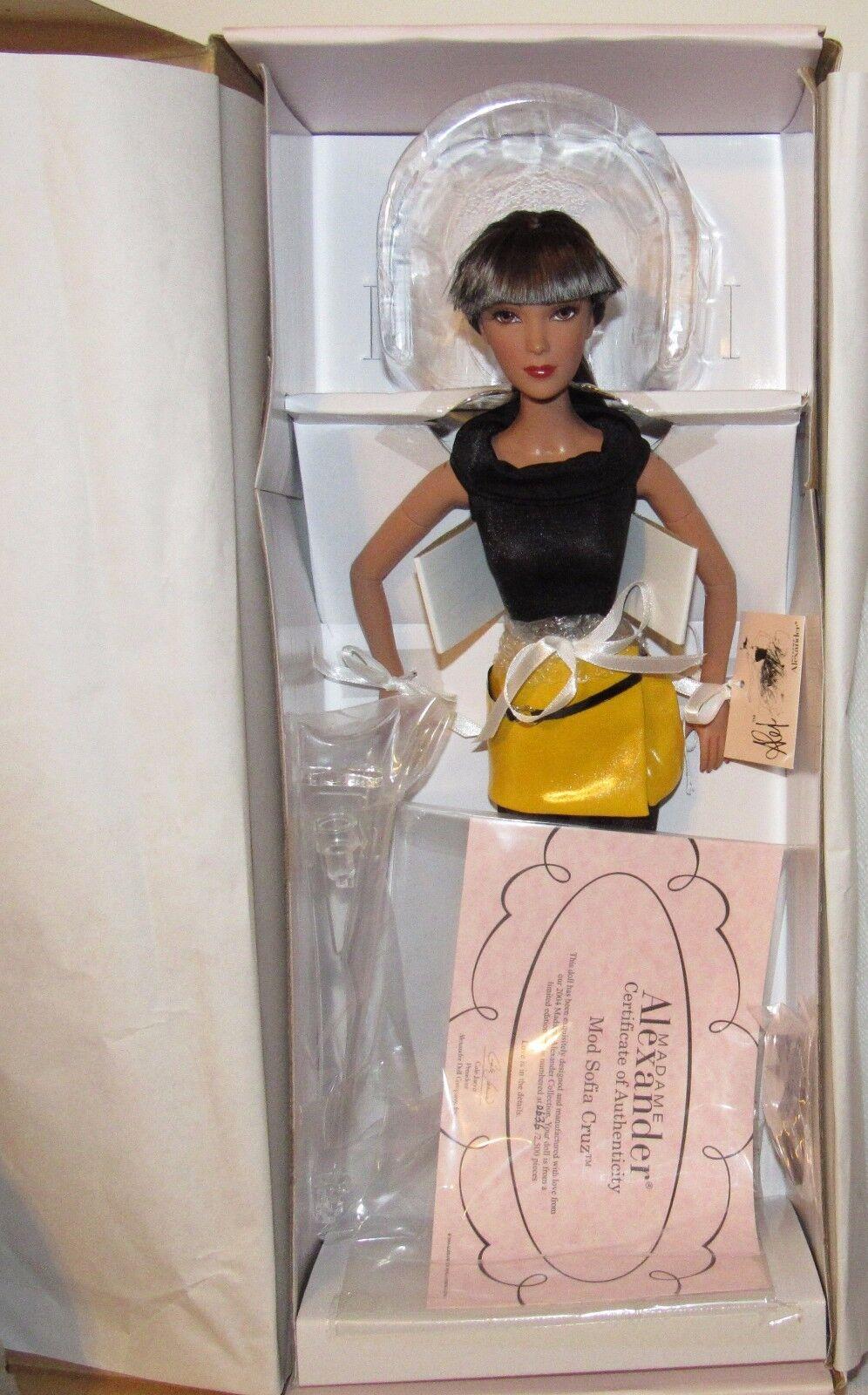 Mod Sofia Cruz 16  Muñeca Madame Alexander ALEX edición limitada de 2500 en caja como nuevo certificado de autenticidad