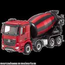 Mercedes Benz Arocs Betonmischer 8x4 Rot 1:87 Neu Herpa