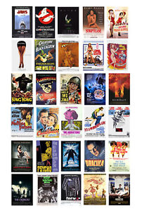 1/87 HO scale model movie theater posters