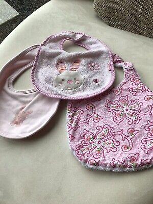 3 Lätzchen Rosa Babylätzchen Ausreichende Versorgung