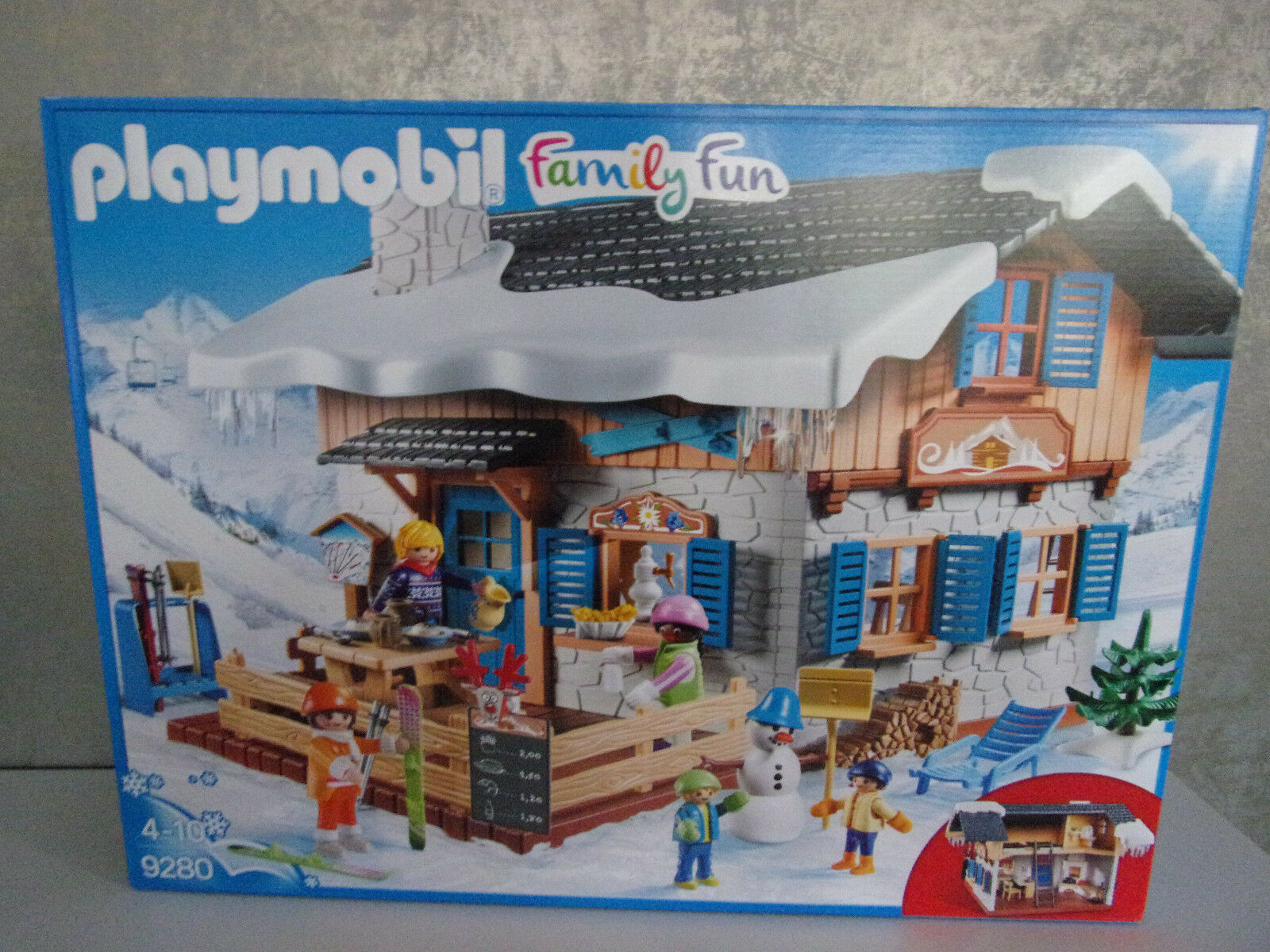 PLAYMOBIL Family divertimento 9280  Chalet-NUOVO & OVP  migliore marca