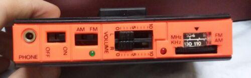Vintage Black GPX AM//FM Stereo Personal Receiver Model BA2830 NEW w// Headphones