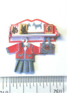 Miniature-Quarter-Scale-kit-Shelf-Scottie-Dog-Set-designed-by-Jean-Day