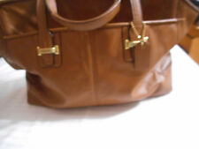 COACH F25205 TAYLOR ALEXIS CARRYALL SATCHEL Handbag Brown $428 Retail