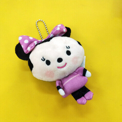 toy story woody stitch donald plush big head doll toy keyring key chain anime