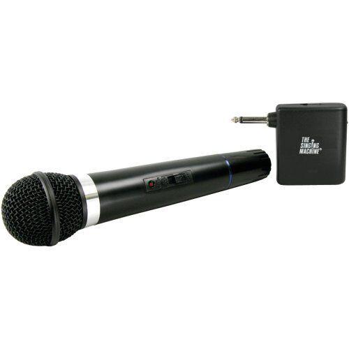 portable karaoke wireless dynamic microphone w vhf receiver battery operated ebay. Black Bedroom Furniture Sets. Home Design Ideas