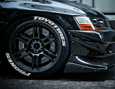 Toyo Tires White Letters >> Permanent Tire Lettering Stickers Toyo Tires Proxes 1 25 15 16 17 18 19 20 8 Kit Ebay