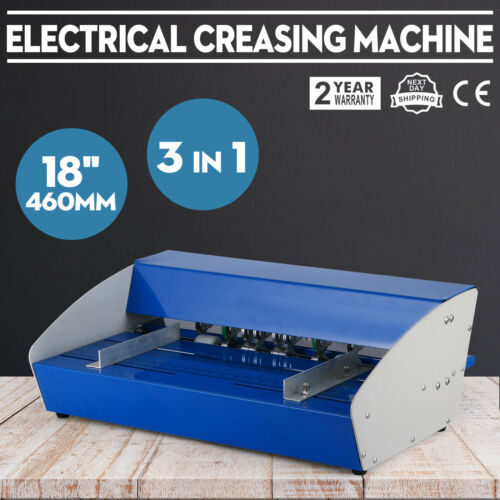 3in1 paper 18 460mm electrical creasing machine Creaser Scorer Perforator