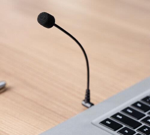 UK SELLER BOYA BY-UM4 3.5mm Mini Flexible Microphone