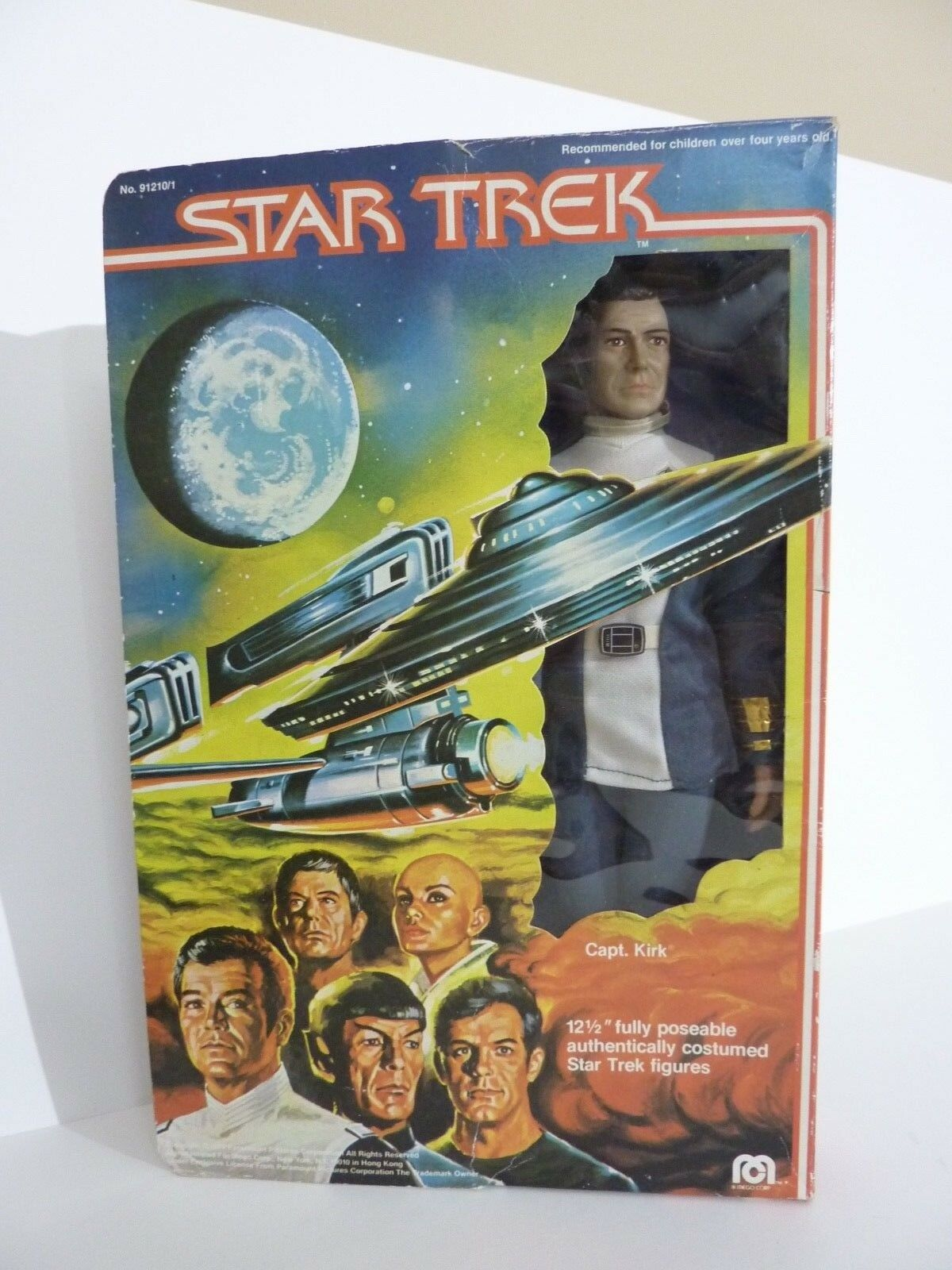 MEGO STAR TREK INCH THE MOTION PICTURE12 INCH TREK CAPTAIN KIRK IN BOX faa37f