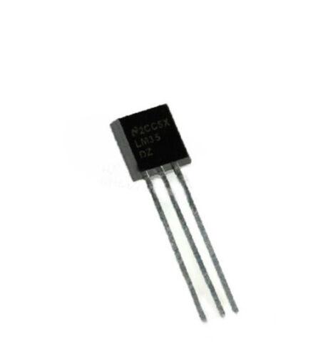 5 To-92 Lm35dz Lm35 NSC Temperatura Sensor Ic