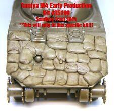"1/35 Sherman Sandbag Front ""SB4"" - Value Gear - For Tamiya M4 Early Prod #35190"